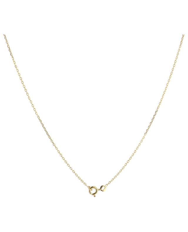 Hedda golden necklace with black diamond MONSIEUR PARIS