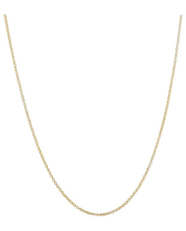 Collier doré pendentif coeur Valentin Rubis MONSIEUR PARIS