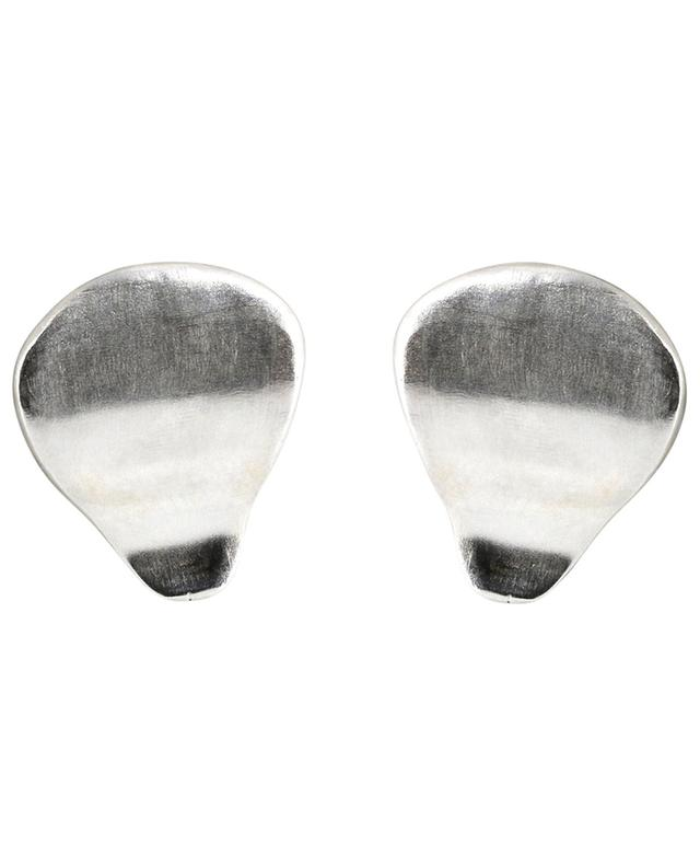 Yulu silver ear studs MONSIEUR PARIS