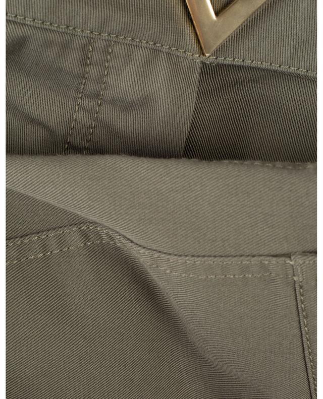 Pantalon large taille haute en gabardine VGOLD VALENTINO