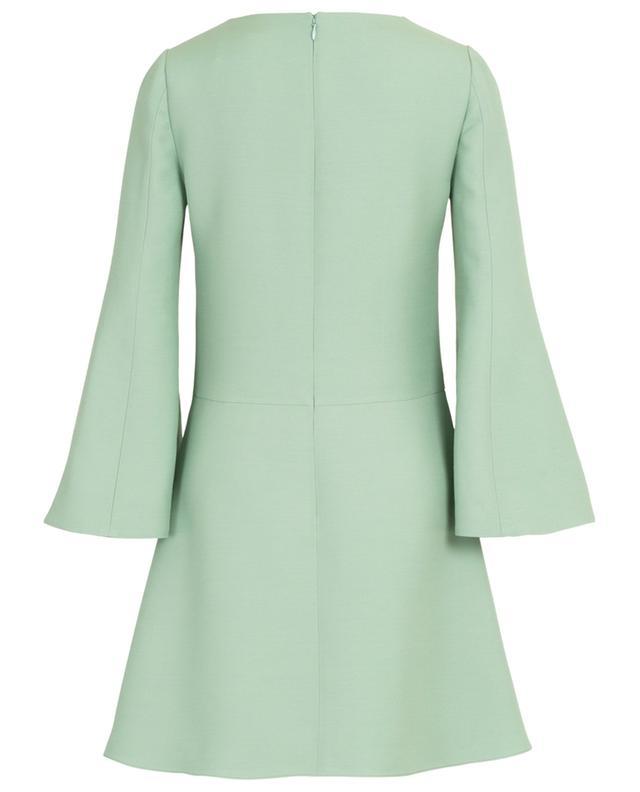 Virgin wool and silk short dress VALENTINO