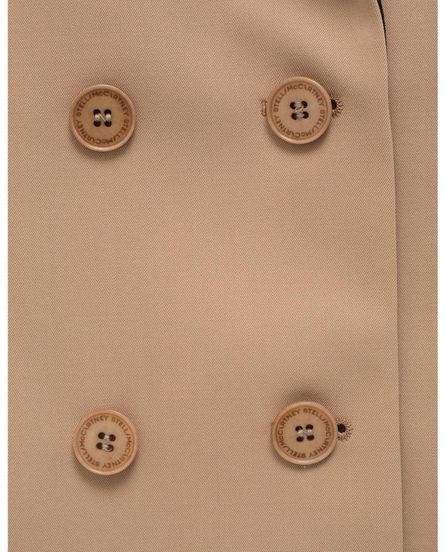 Doppelreihiger Blazer mit andersfarbigen Taschen und Revers STELLA MCCARTNEY