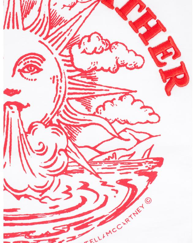 T-shirt en coton imprimé We are the weather STELLA MCCARTNEY