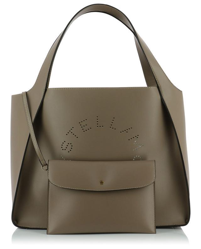 Sac cabas en cuir synthétique Stella Logo STELLA MCCARTNEY