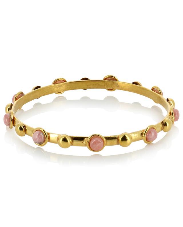 Bracelet doré avec rhodochrosite Candies Dots SYLVIA TOLEDANO