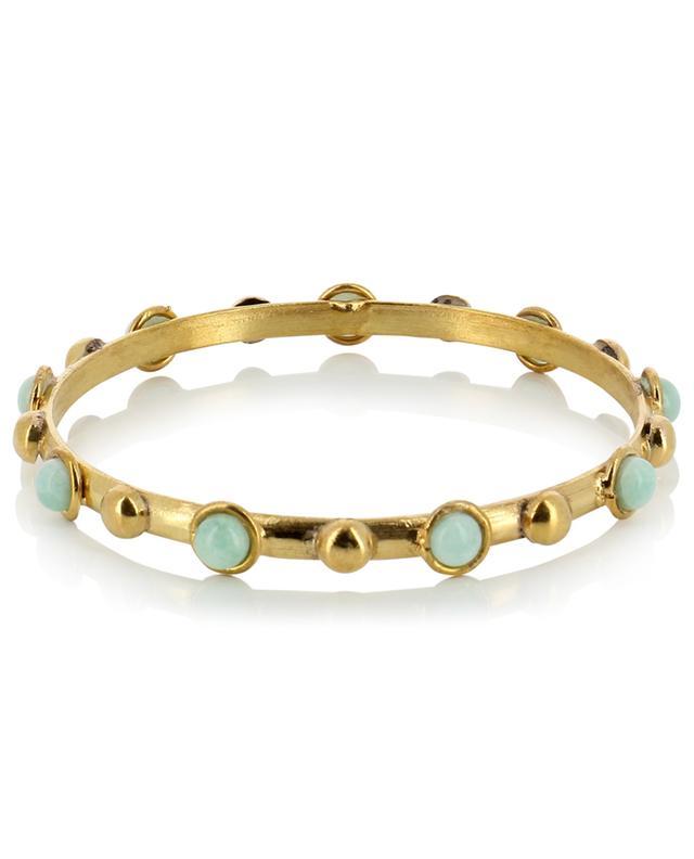 Bracelet doré avec amazonite Candies Dots SYLVIA TOLEDANO