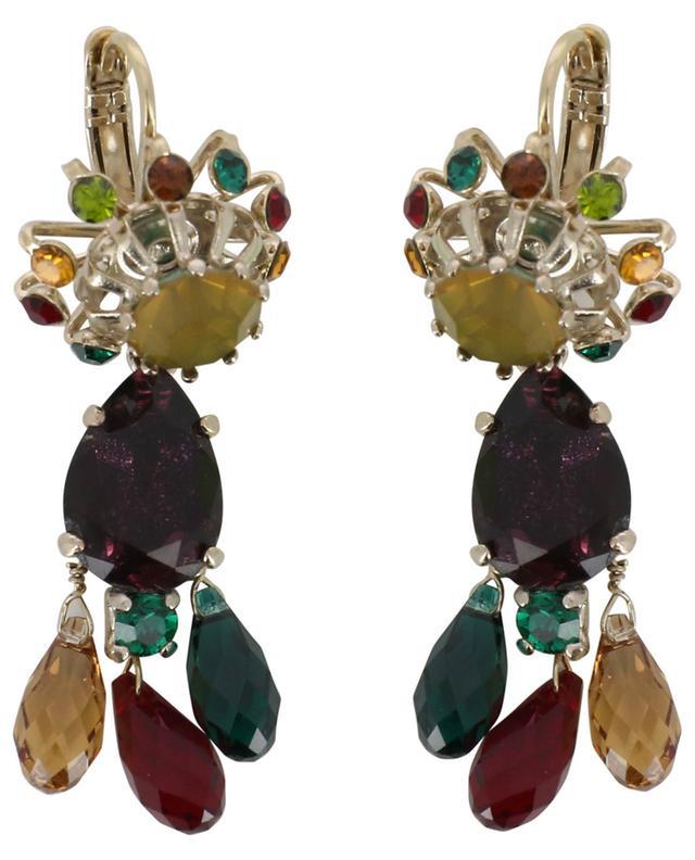 Boucles d'oreilles multicolores ornées de gouttes Naomie SATELLITE