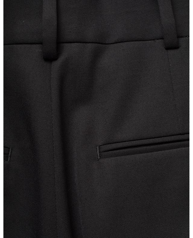 Hose mit hohem Taillenbund aus Woll-Twill SAINT LAURENT PARIS