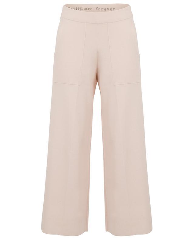 Pantalon de jogging large en laine mélangée HEMISPHERE
