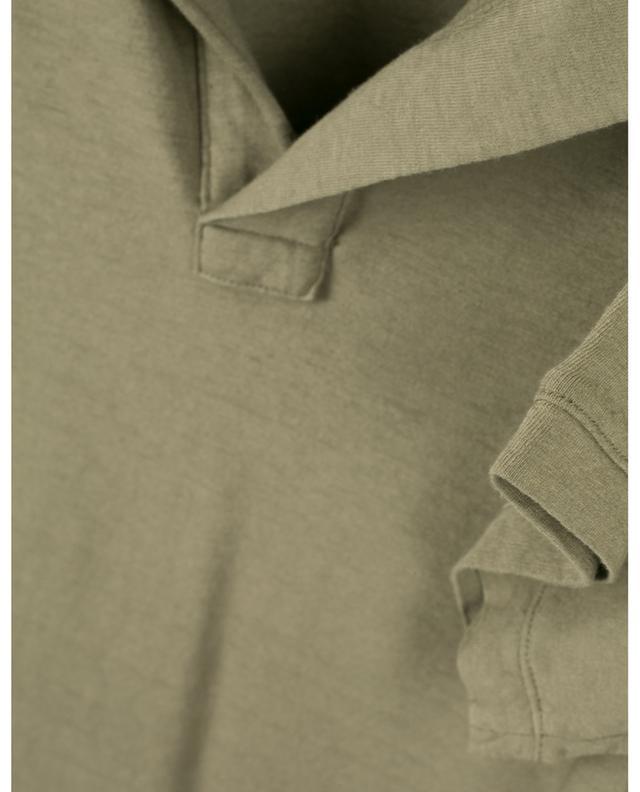 Polo en coton et lin DONDUP