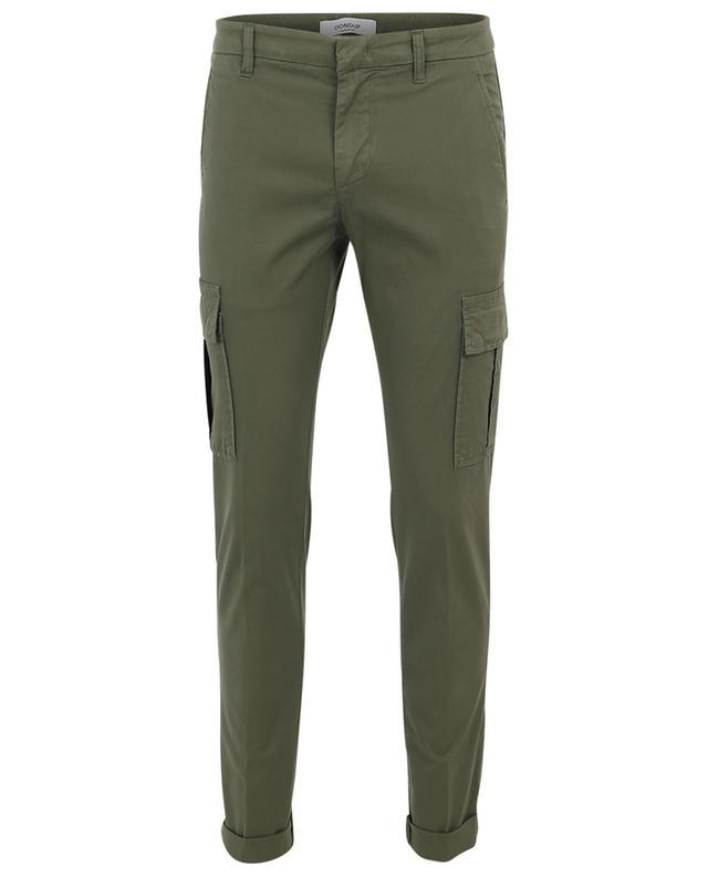 Pantalon cargo slim en gabardine Zeno DONDUP