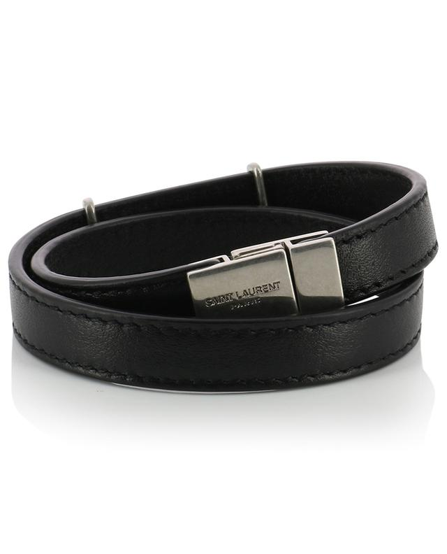 Doppeltes Lederarmband Opyum Double Wrap SAINT LAURENT PARIS