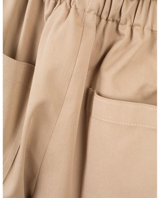 Short en coton mélangé avec ceinture ruban RED VALENTINO