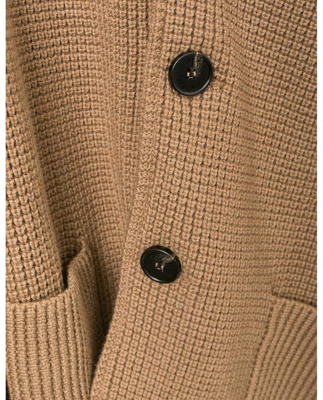 Virgin wool knit cardigan MAURIZIO BALDASSARI