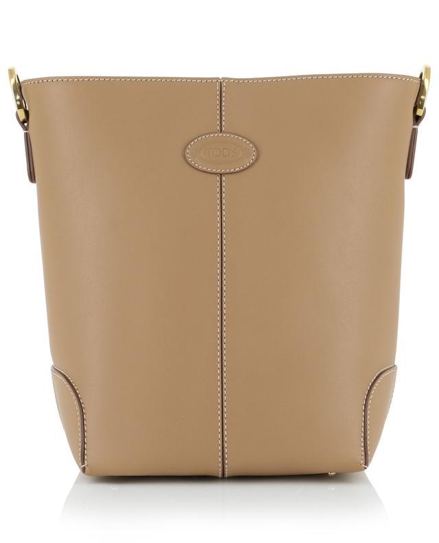 Mini-sac à bandoulière en cuir lisse TOD'S