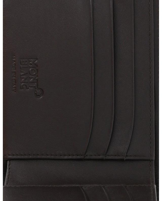 Meisterstück Soft Grain 6 cc grained leather wallet MONTBLANC