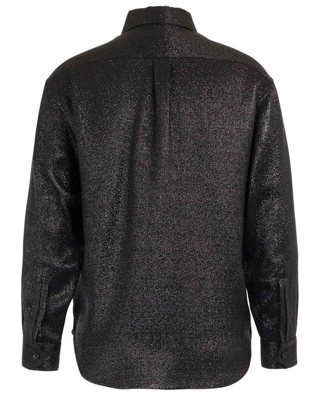 Sparkling viscose shirt SAINT LAURENT PARIS
