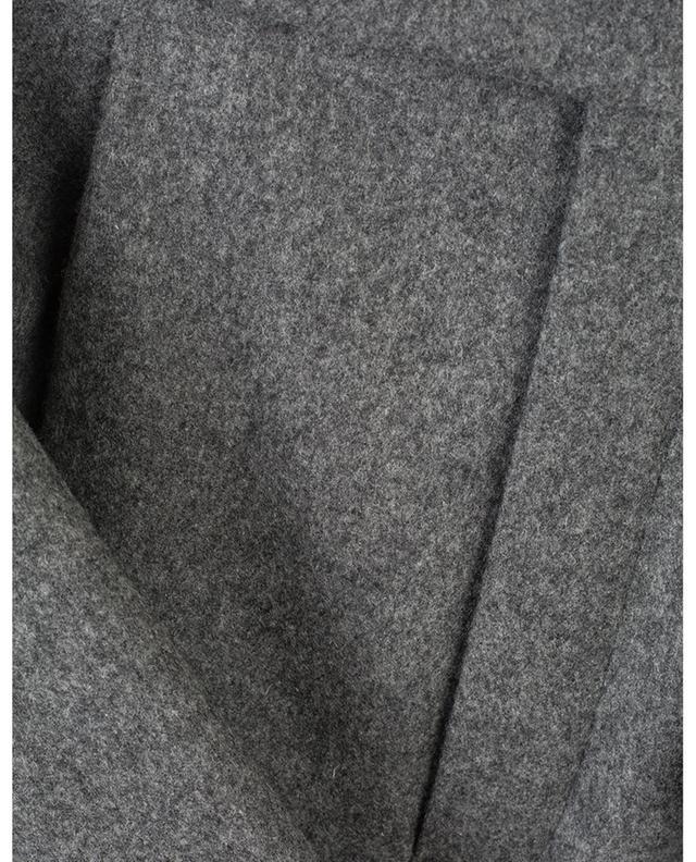 Pantalon à pinces en laine SAINT LAURENT PARIS