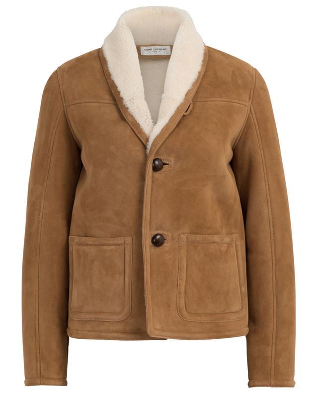 Short shearling jacket SAINT LAURENT PARIS