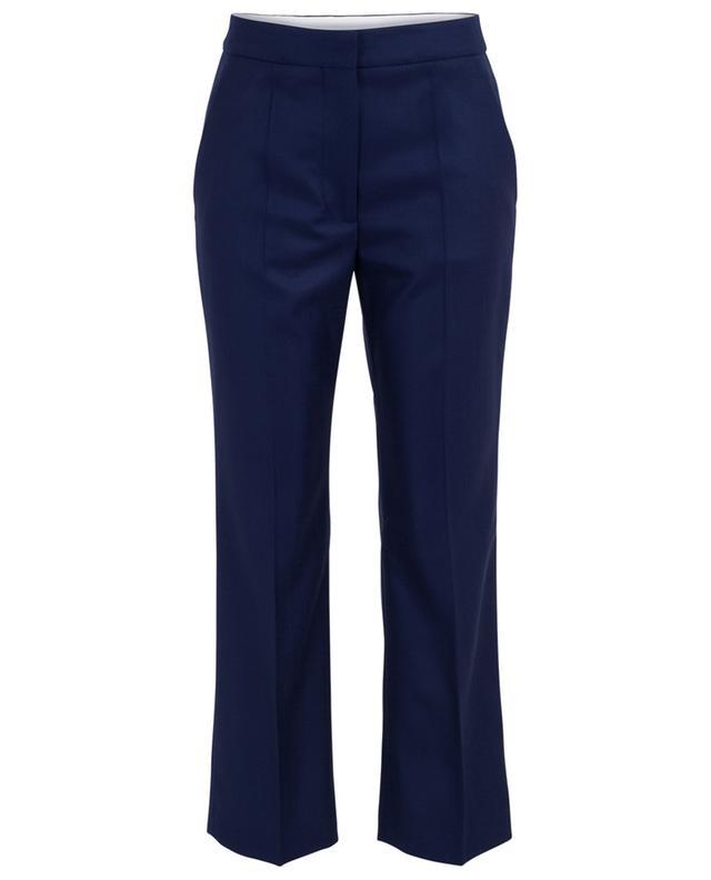 Pantalon 7/8 à pinces en laine STELLA MCCARTNEY