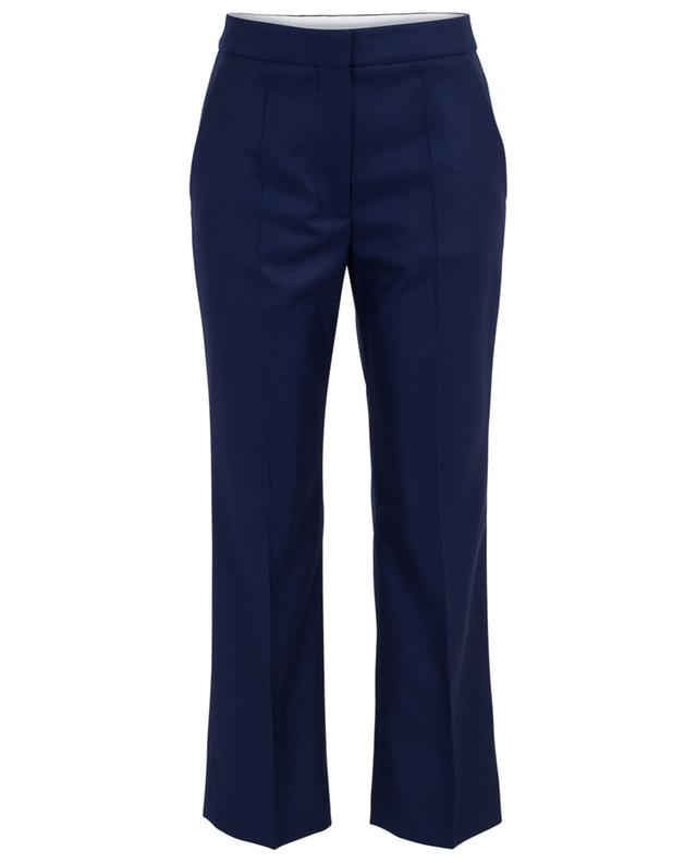 Pantalon 7/8 à pinces en laine STELLA MCCARTNEY