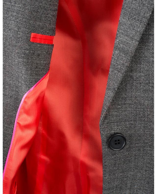 Blazer ajusté à boutonnière simple en laine BARBARA BUI