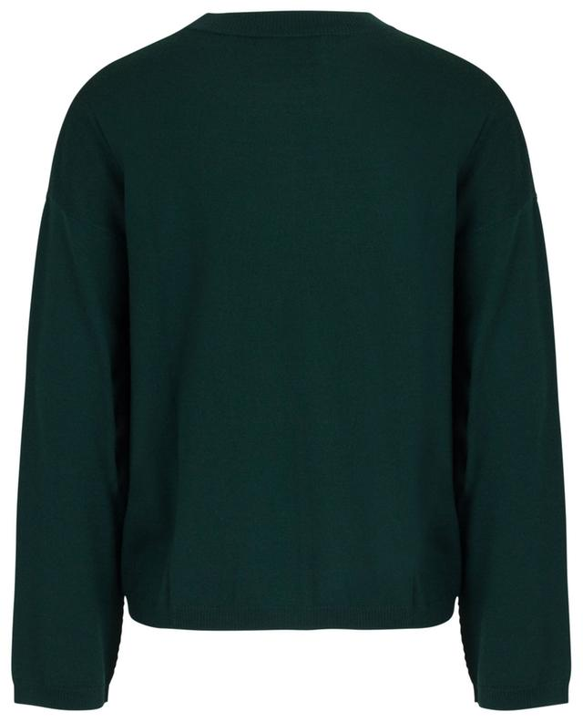 Pull fin col rond en laine vierge ALLUDE
