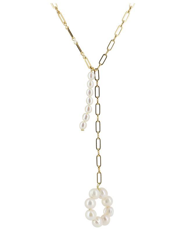 Collier plaqué or orné de perles d'eau douce TIMELESS PEARLY
