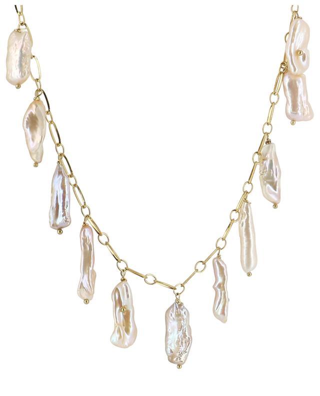 Collier doré orné de perles irrégulières TIMELESS PEARLY
