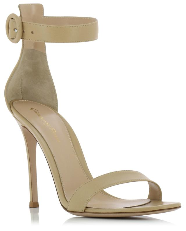 Portofino 105 heeled nappa leather sandals GIANVITO ROSSI