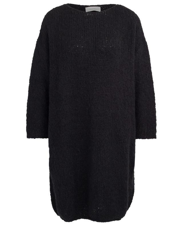 Oversize-Strickkleid aus Alpaka und Merinowolle Boolder AMERICAN VINTAGE