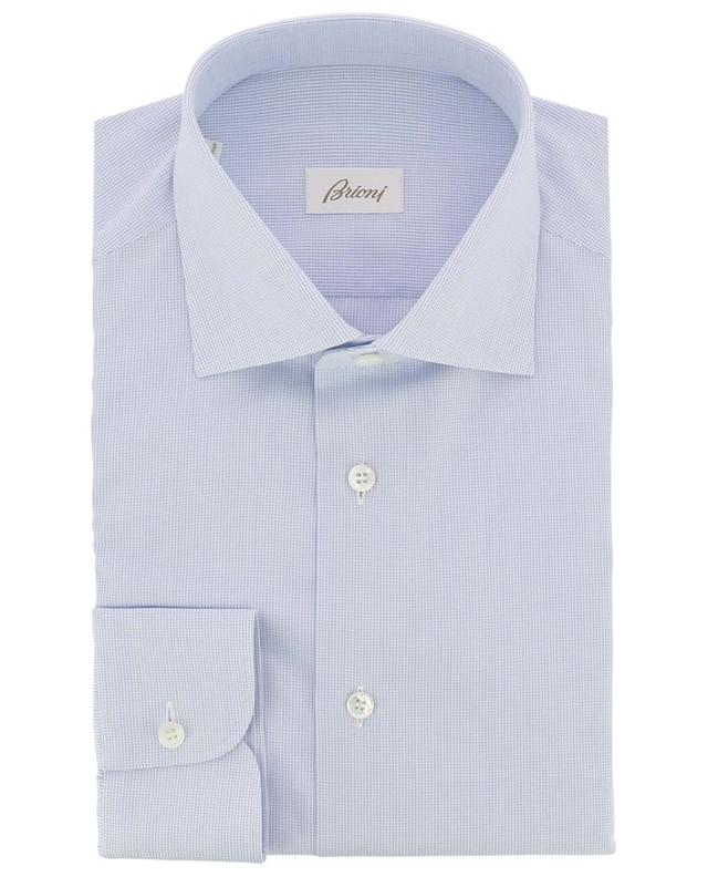 Brunico shirt with small checks BRIONI