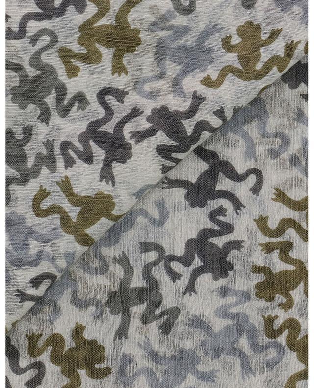 Écharpe imprimée grenouilles Trog-WMC HEMISPHERE
