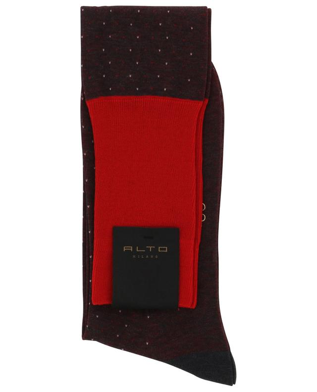 Chaussettes en coton Bracco Long ALTO