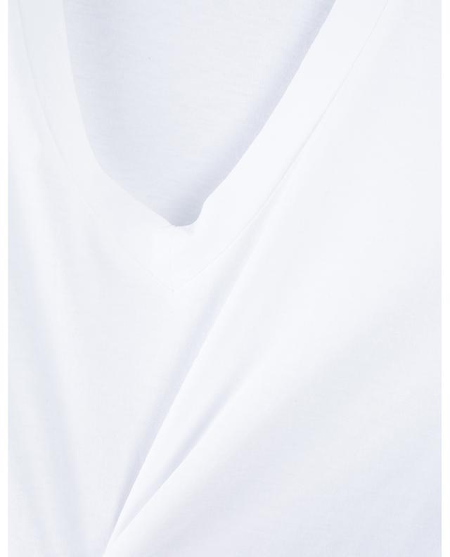 T-shirt en coton col V JAMES PERSE