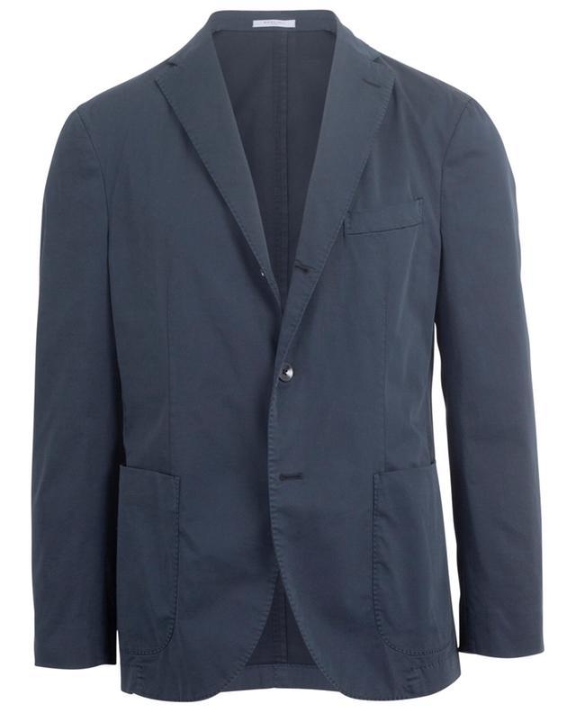 Blazer en coton à boutonnière simple K. Jacket BOGLIOLI