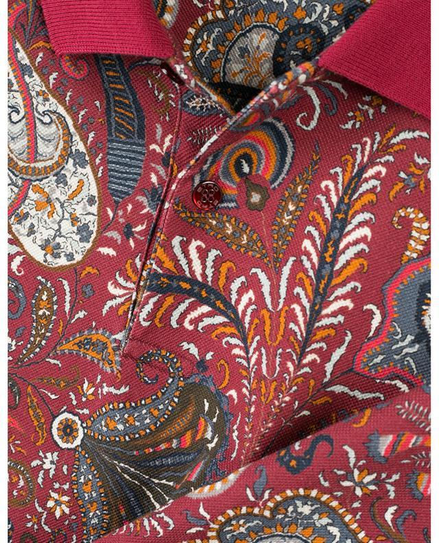 Polo en coton imprimé paisley Regular Fit ETRO