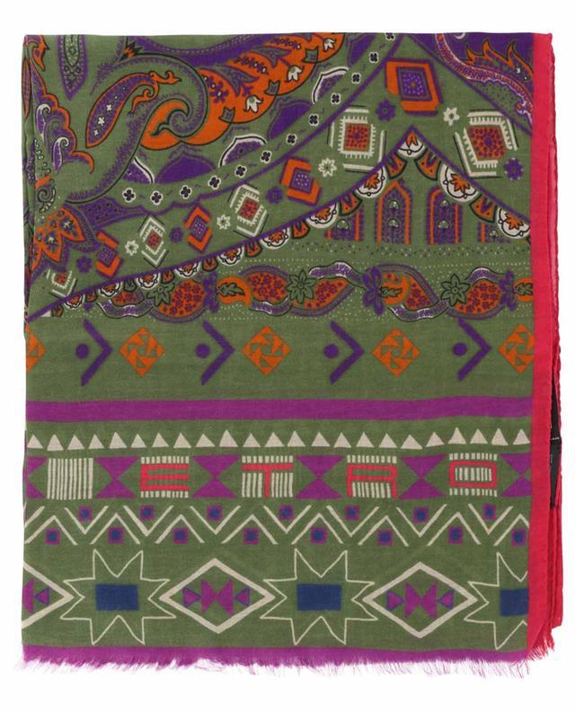Écharpe légère imprimée ethnique Shaal-Nur ETRO