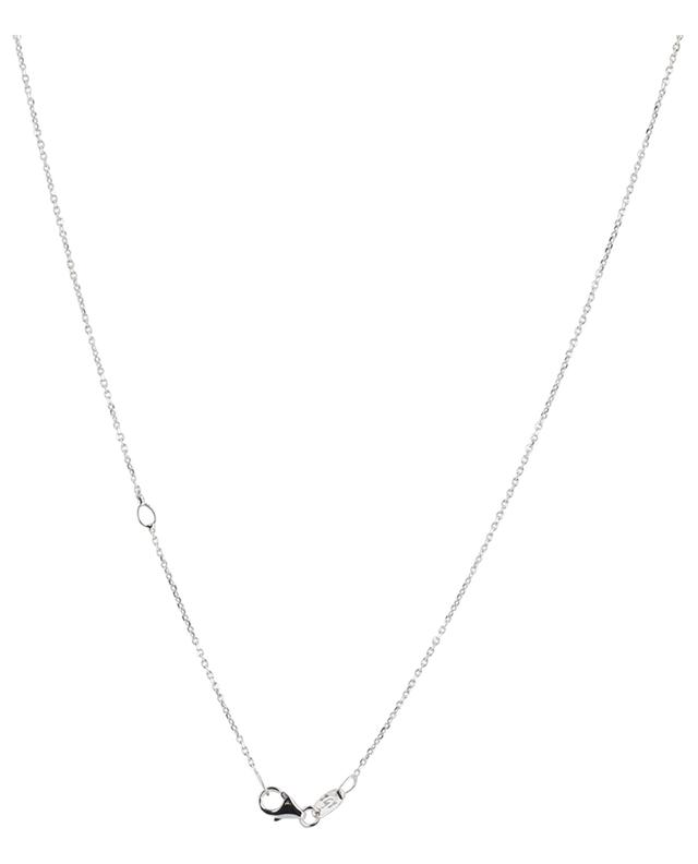 Amulette white gold neclace with sapphire and diamonds GBYG