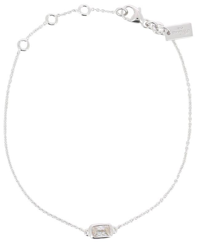 Bracelet en argent avec zircon Baguette AVINAS