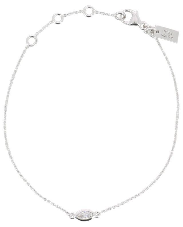 Bracelet en argent avec zircon Taille Marquise AVINAS