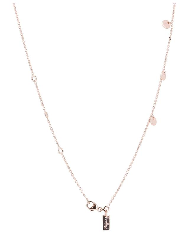 Collier ras-du-cou plaqué or rose Confetti AVINAS