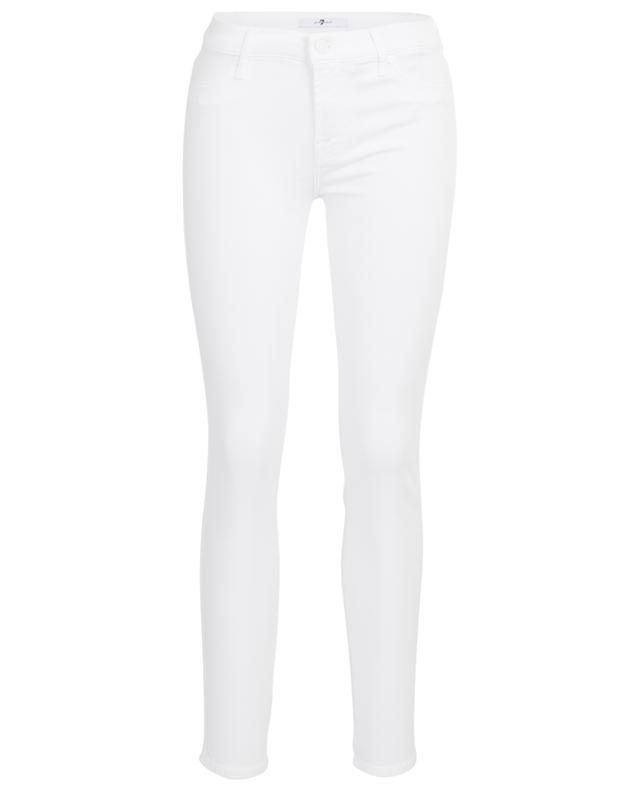 Jean blanc The Skinny Slim Illusion Pure White 7 FOR ALL MANKIND