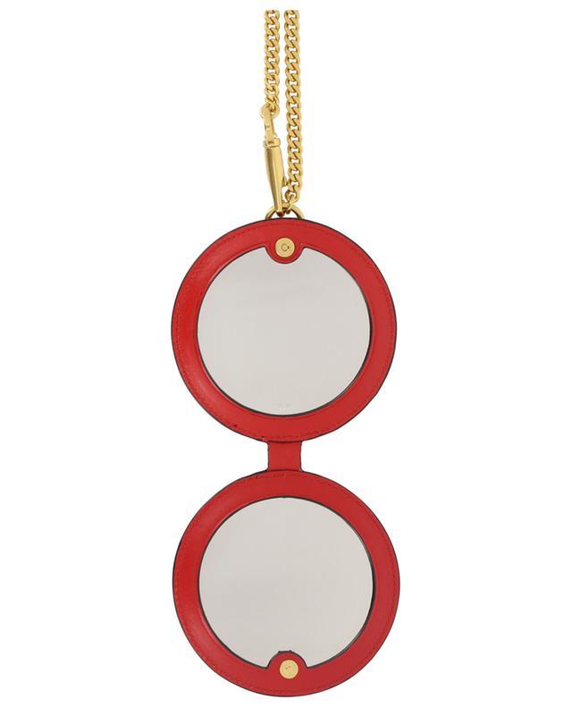 Leather mirror bag charm VALENTINO