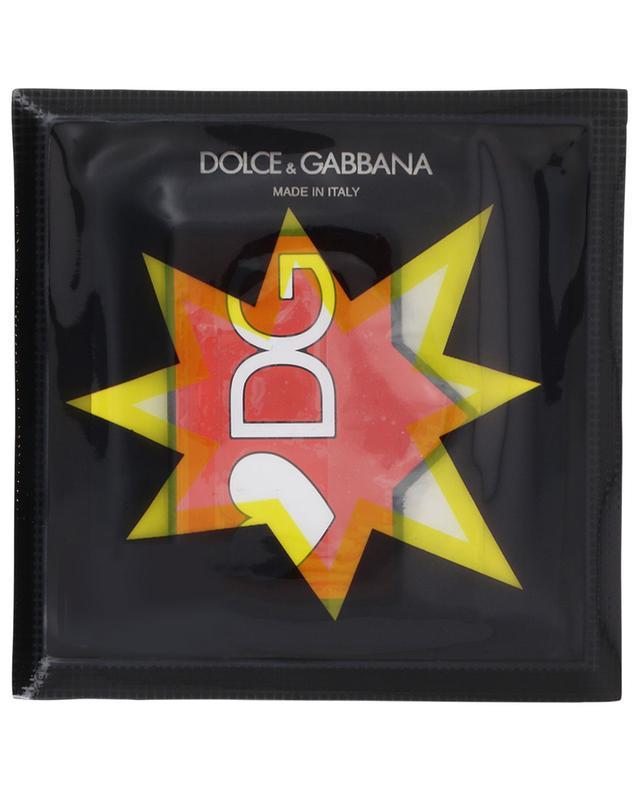 #DGPATCH D&G Speech Bubble shoe patch DOLCE & GABBANA