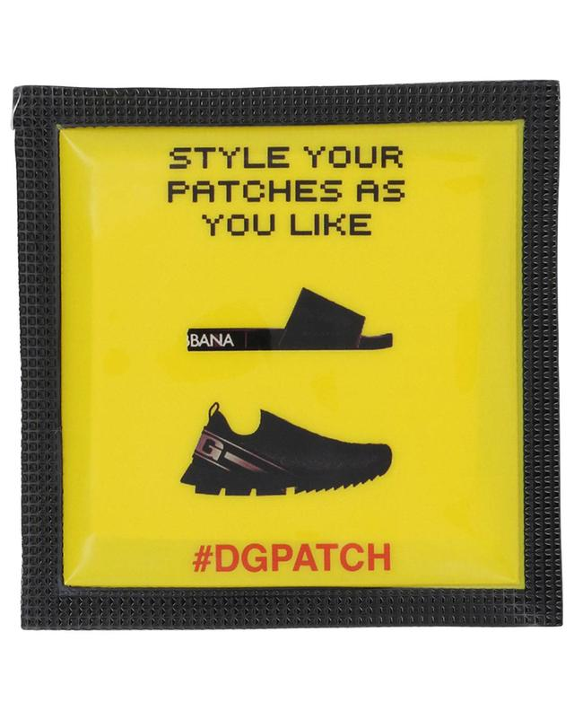 #DGPATCH Melted D&G Bubble shoe patch DOLCE & GABBANA