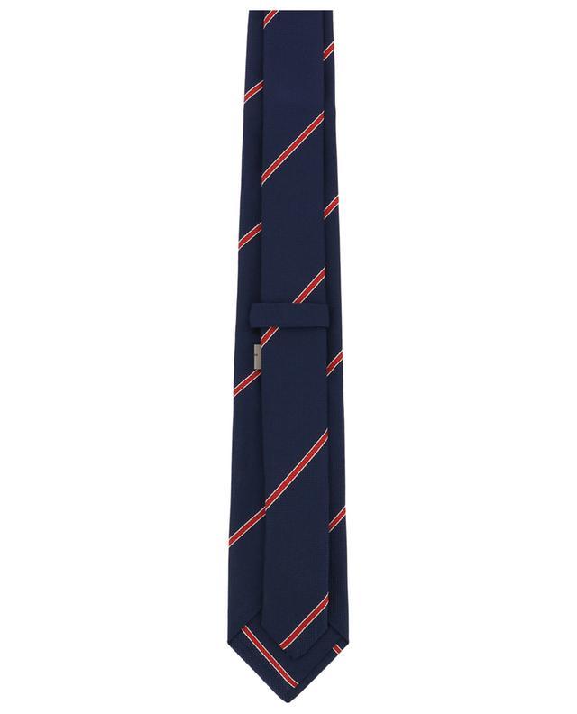 Martin EX striped textured silk tie ROSI COLLECTION