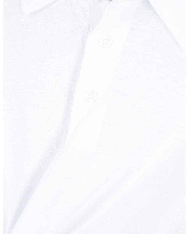 Polo en maille de coton fine Tennis GRAN SASSO