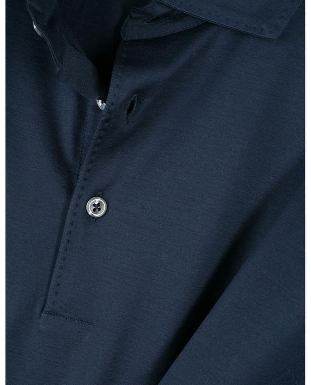 Polo en jersey orné de surpiqûres GRAN SASSO