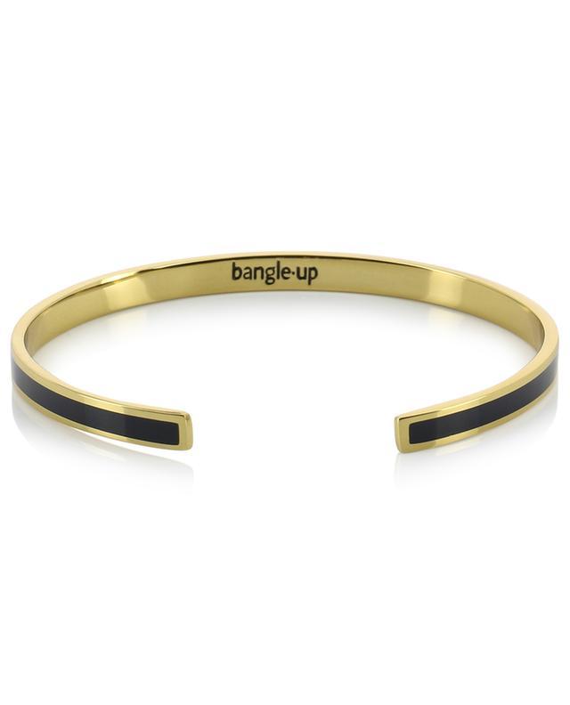 Bangle 0.44 Bleu Nuit open enamelled bracelet BANGLE UP